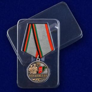 Медаль 30 лет вывода Советских войск из Афганистана - в пластиковом футляре