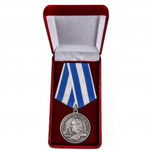 """Медаль """"300 лет ВМФ"""" в футляре"""