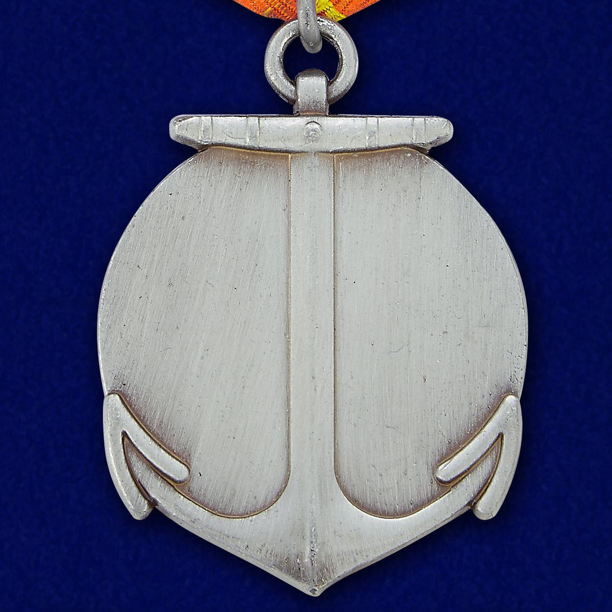 Медаль 310 лет Морской пехоте - оборотная сторона