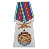 Медаль 45 ОБрСпН ВДВ на подставке