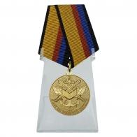 Медаль 5 лет на военной службе на подставке