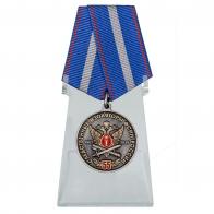 Медаль 55 лет Следственным изоляторам ФСИН России на подставке