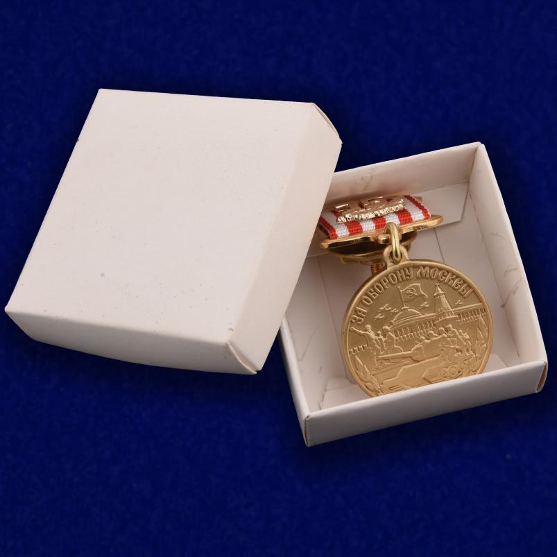 """Медаль """"75 лет Битвы под Москвой"""" с доставкой"""