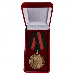 Медаль Александра I За спасение погибавших - в футляре