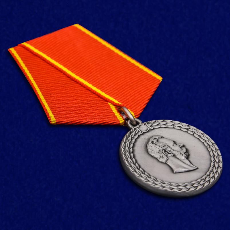Медаль Александра II За беспорочную службу в полиции - общий вид