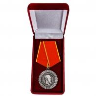 Медаль Александра III За беспорочную службу в полиции - в футляре