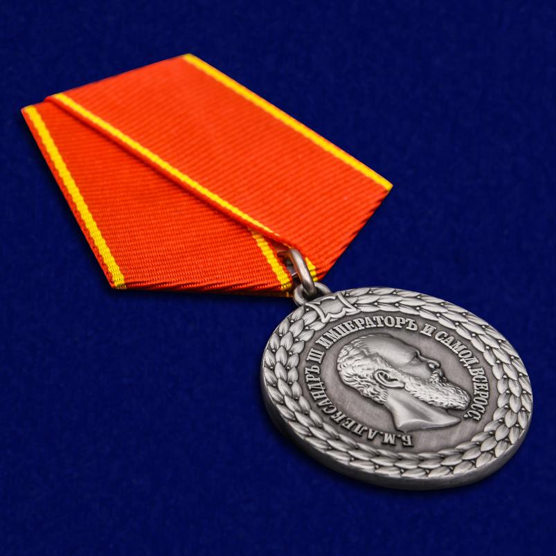 Медаль Александра III За беспорочную службу в полиции - общий вид