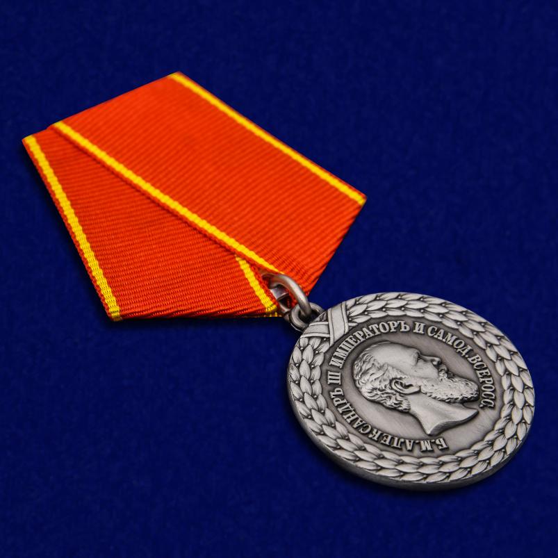 Медаль Александра III За беспорочную службу в тюремной страже - общий вид