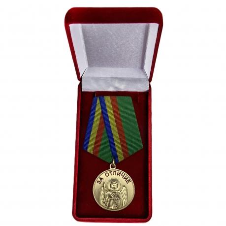 """Медаль """"Архангел Михаил. За отличие"""" в футляре"""