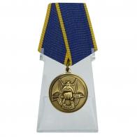 Медаль Ассоциации Ветеранов Спецназа Резерв на подставке