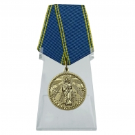 Медаль Благодатное небо на подставке