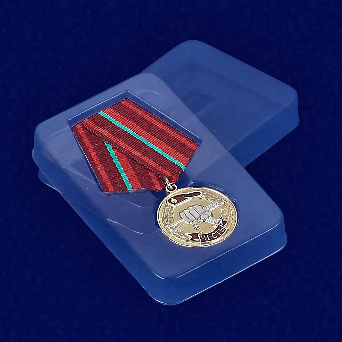 Футляр к медали «Честь» За заслуги перед спецназом