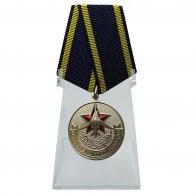 Медаль Дальней авиации (Ветеран) на подставке