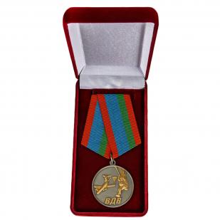 Медаль Десантник ВДВ в футляре - в футляре