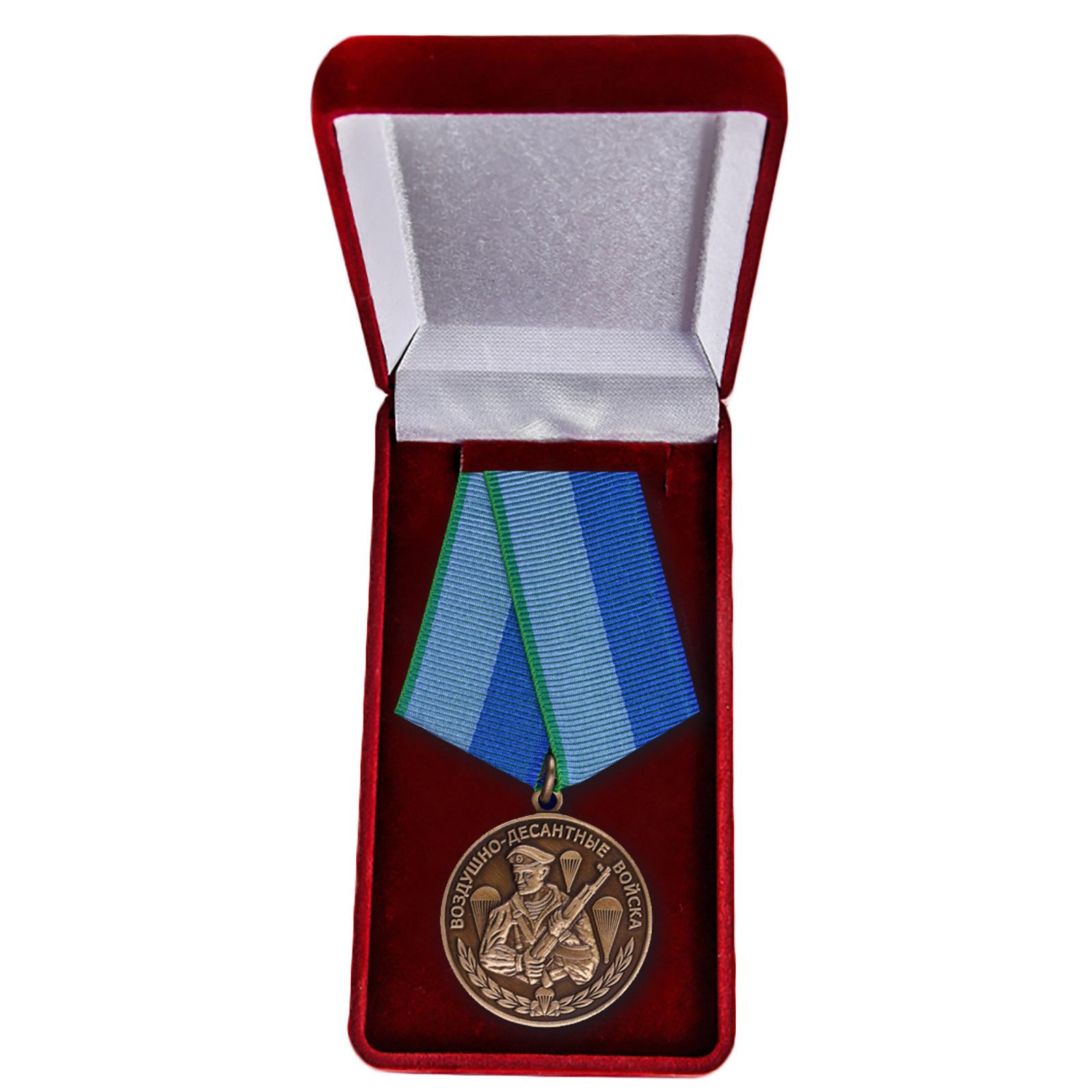Медаль десантнику в футляре