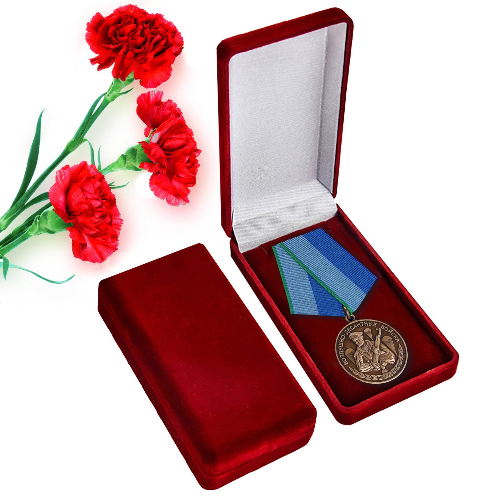 Медаль десантнику - общественная награда военнослужащим и ветеранам