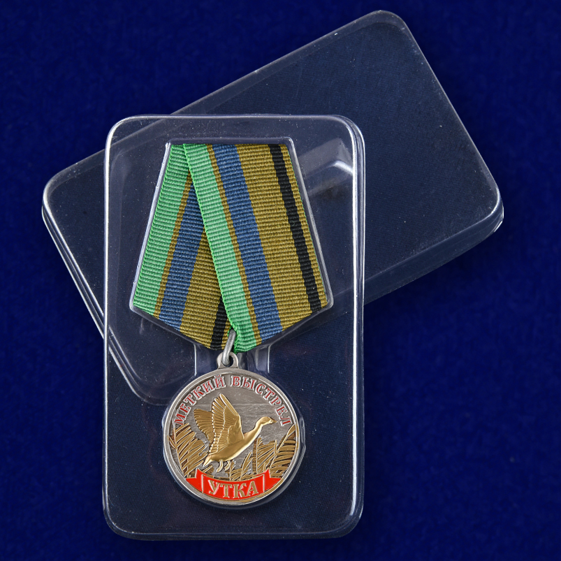 """Медаль """"Утка"""" с доставкой"""