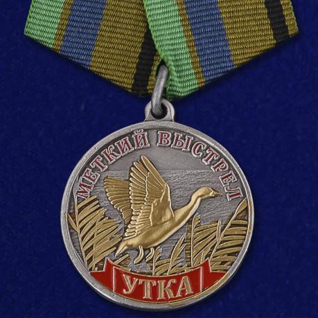 """Медаль """"Утка"""" (Меткий выстрел)"""