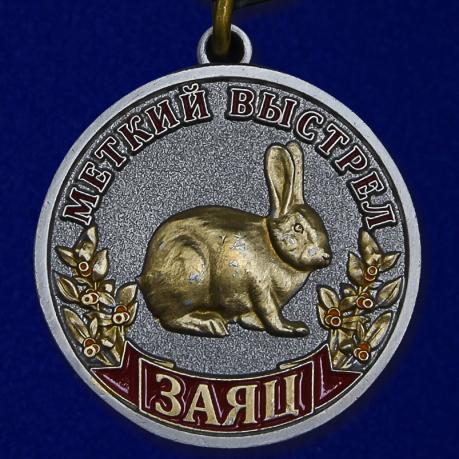 """Медаль """"Заяц"""""""