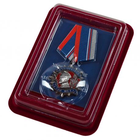 Медаль Ф. Дзержинского «100 лет ВЧК КГБ ФСБ»