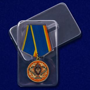 Медаль  ФСБ России За заслуги в борьбе с терроризмом - в пластиковом футляре