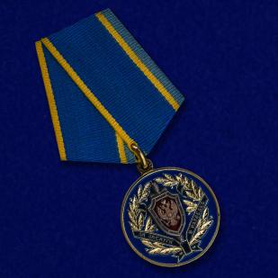 Медаль ФСБ России За заслуги в разведке - общий вид