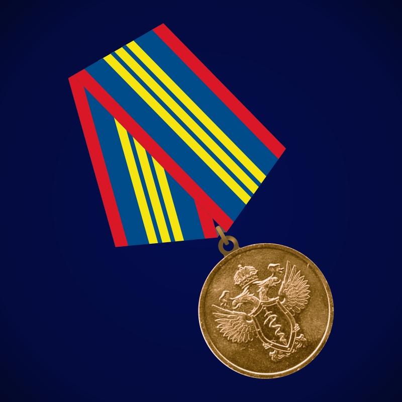 Медаль ФСКН «За отличие в службе в органах наркоконтроля» 3 степени