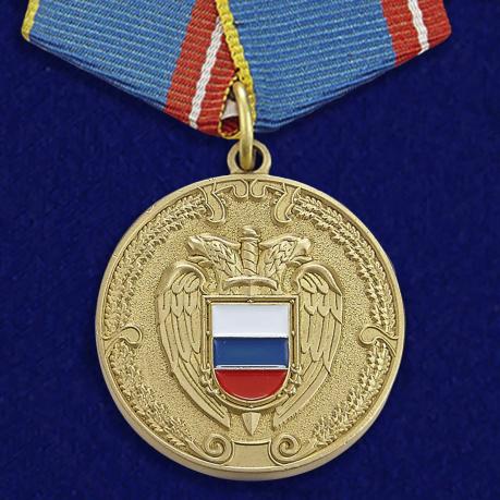 """Медаль """"За воинскую доблесть"""" ФСО РФ"""