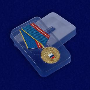 Пластиковый футляр к медали За воинскую доблесть Федеральной службы охраны РФ