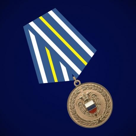 """Медаль ФСО России """"За взаимодействие"""""""