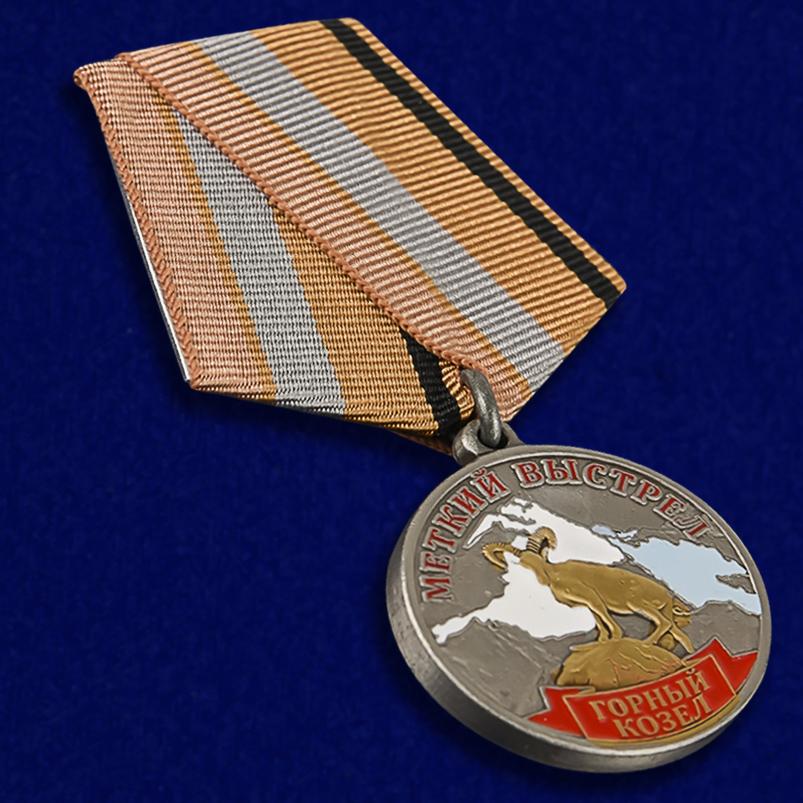 """Лучшим охотникам! Медаль """"Горный козел"""" купить в Военпро"""