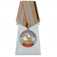 Медаль Горный козел (Меткий выстрел) на подставке