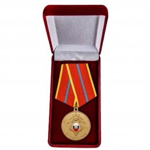 """Медаль ГУСП """"Ветеран службы"""" - в футляре"""