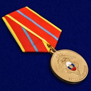 """Медаль ГУСП """"Ветеран службы"""" - общий вид"""
