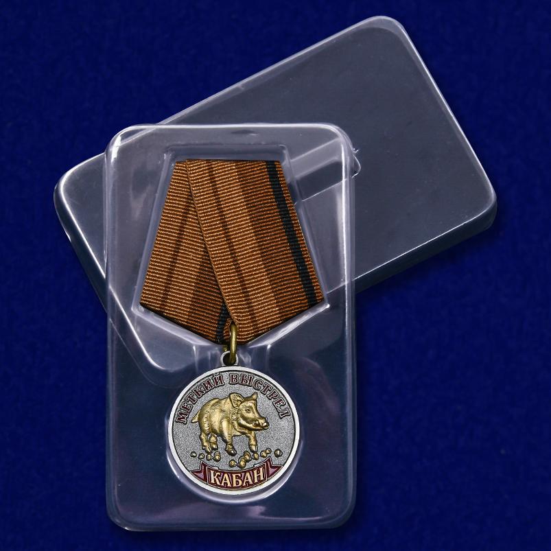 """Медаль """"Кабан"""" с удобной доставкой"""