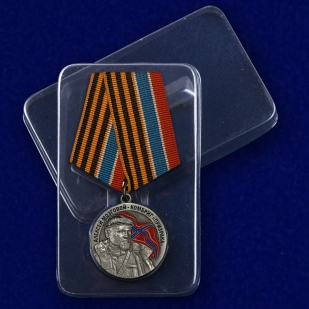 Медаль Комбриг Призрака Алексей Мозговой - в пластиковом футляре