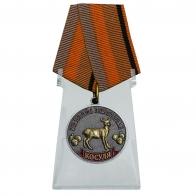 Медаль Косуля (Меткий выстрел)  на подставке