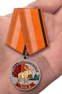 """Медаль """"Лось"""" с доставкой"""