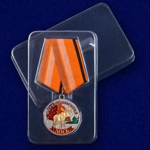 "Медаль ""Лось"" в футляре"