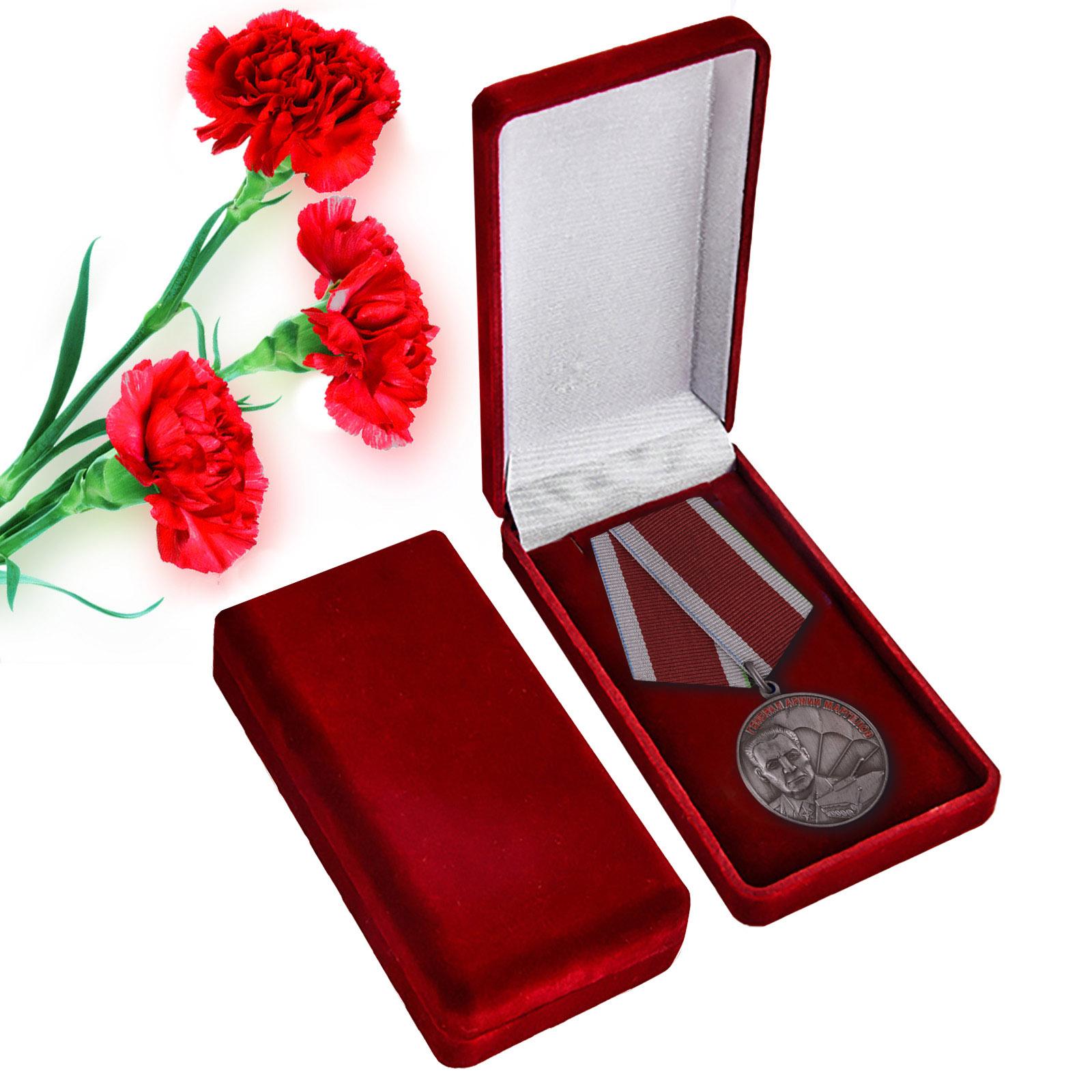 """Медаль  """"Маргелов В.Ф."""" в футляре"""
