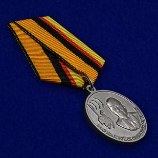 Медаль Маршал Пересыпкин в футляре с удостоверением - общий вид