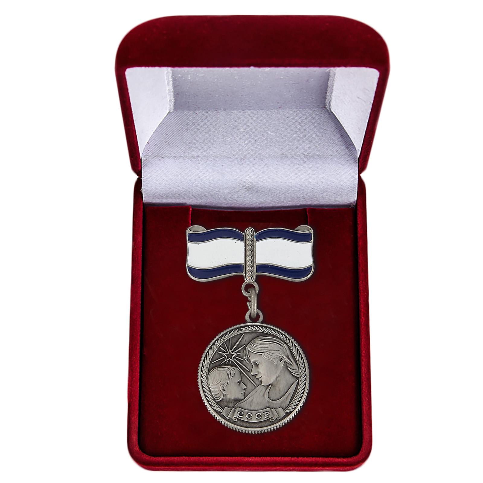 Медаль Материнства 1 степени в футляре