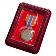"Медаль МЧС ""Участнику чрезвычайных гуманитарных операций"""