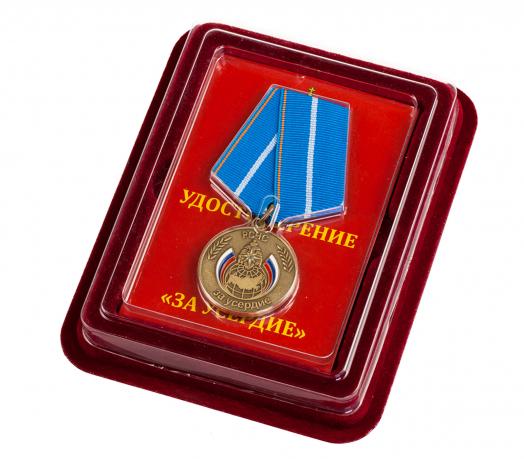 """Медаль МЧС """"За усердие"""""""