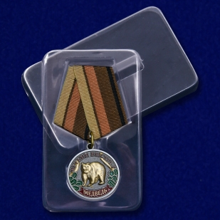 """Медаль """"Медведь"""" с доставкой"""