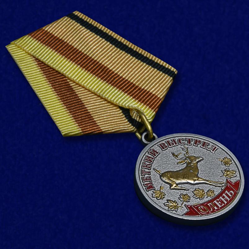 Медаль Меткий выстрел Олень - общий вид