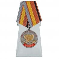 Медаль Меткий выстрел. Перепел на подставке