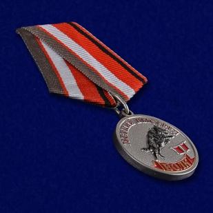 Медаль Меткий выстрел Волк - общий вид