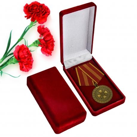 Медаль Министерства Юстиции За доблесть 2 степени