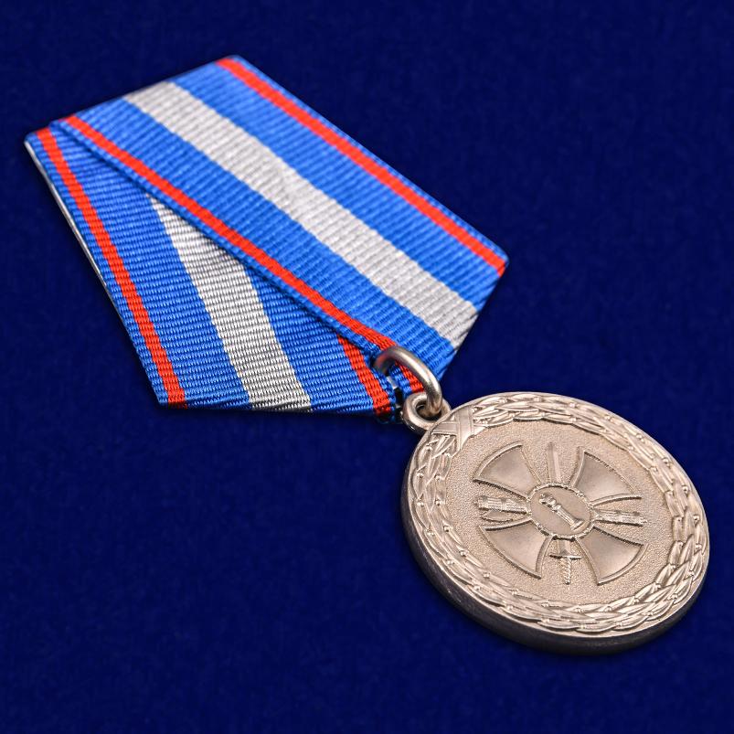 Медаль Министерства Юстиции За укрепление уголовно-исполнительной системы 2 степени - общий вид